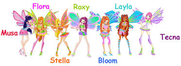 I love winx club and Roxy